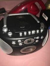 Jensen CD540 Tragbar Stereo Compact Disc Kassette Recorder Mit Am/Fm Radio