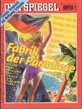 SPIEGEL 33/1998 Die Reise-Industrie und der Urlaub der Zukunft