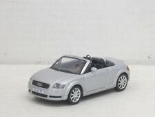 Audi TT Roadster Cabrio in silber, ohne OVP, Hongwell/Cararama, 1:43
