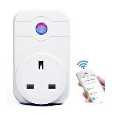 WiFi Smart UK Plug Wireless Timer Socket Alexa App Remote Control Power Switch