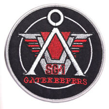 "Stargate SG-1 Gatekeepers Logo 4"" Embroidered Uniform Patch- FREE S&H (SGPA-10)"