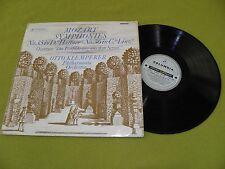 Mozart - Symphony No.35 & No.36 / Klemperer / UK 1962 Columbia SAX 2436 STEREO