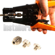 Adjustable Compression Tool RG59 RG6 BNC RCA F Cable Coax Connector Crimp Tool