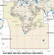 C-Map MAX MEGAWIDE M-AF-M005 Chart C-CARD RED SEA, ARAB GULF AND AFRICA