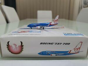 PHOENIX 1/400 VIRGIN BLUE Boeing 737-700 VH-VBY VB's 50th Aircraft Diecast