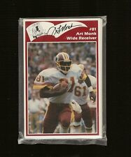 150 SETS 1986 Washington Redskins Police Set - Near Mt - 50th Anniversary Year