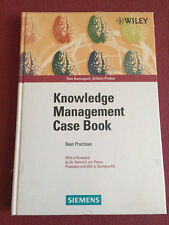 Knowledge management case book : Siemens best practises. Davenport, Tom and Gil