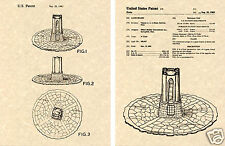 DARK TOWER GAME PATENT Art Print READY TO FRAME!!!! 1981 Milton Bradley board