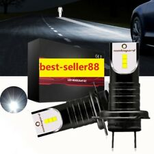 55W H7 Bombillas 13000LM LED Luces Faro Coche Lámparas Blanco 6000K Focus BMW