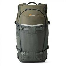 Lowepro Flipside Trek BP 350 AW Backpack, for Camera, DJI Mavic, Gray/Dark Green
