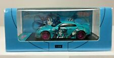 TIME MODEL C67 1/64 LB WORKS NISSAN GT-R R35 HATSUNE MIKU DUCKTAIL WING