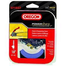 """New Genuine Oregon PowerSharp 571037 18"""" Chain & Sharpening Stone for CS1500 Saw"""
