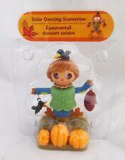2017 Solar Dancing Boy Scarecrow Bobble Head Figure Figurine Thanksgiving Decor