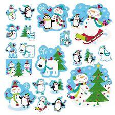 20 Decorazione Natale Gioioso Neve Build Pupazzo Di Neve Taglio Scena