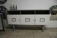Kommode Sideboard Flurschrank Badschrank grau weiß 1,70 m Br. Anrichte Schrank
