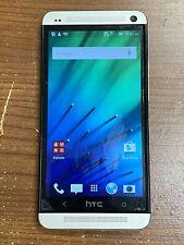 HTC One M7 Verizon 32GB HTC6500L Silver Unlocked VZW 4G LTE Android Smartphone