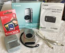 Canon PowerShot Digital ELPH SD4000 IS / IXUS 300 HS 10.0MP~~Nr Mint~~