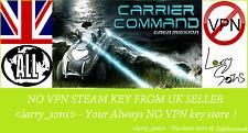 Carrier COMANDO: missione GAIA chiave a vapore NO VPN REGIONE GRATIS UK Venditore