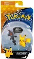 Pokemon Figures Salandit Vs Pikachu mini Action Figures