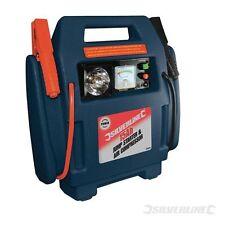 Silverline Starthilfegerät u. Druckluftkompressor 12 Ah