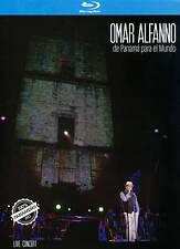 Omar Alfanno: De Panamá para el Mundo (Blu-ray/DVD, 2014, 2-Disc Set)