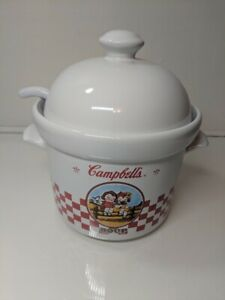 Campbell Soup Tureen with Lid and Ladle Houston Harvest - Serving Bowl 2000