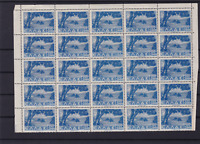 greece mint never hinged part stamps sheet ref r13668
