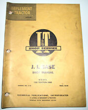 * Case 1200 Traction King Tractor I&T Service Repair Shop Manual C-18
