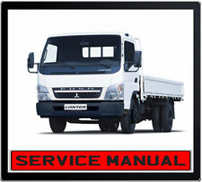 MITSUBISHI FUSO CANTER TRUCK 2003-2010 WORKSHOP REPAIR SERVICE MANUAL IN DVD