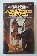 Apache Devil von Edgar Rice Burroughs 1975 Ballantine Tarzan