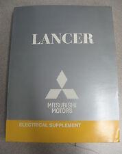 2004 Mitsubishi Lancer Electrical Service Manual