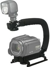 Pro Deluxe Video Stabilizing Bracket Handle for Sony HDR-CX430 HDR-PJ430