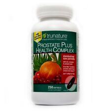 TruNature Prostate Health Complex 250 Softgels, Saw Palmetto+Zinc+Lycopene+More