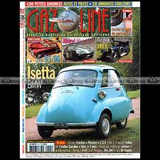 GAZOLINE N°105 MG MIDGET PEUGEOT 190 BMW ISETTA SAAB 93-96 ILE SEGUIN RENAULT