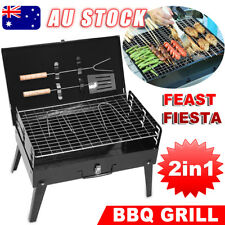 Outdoor Camping Picnic Barbecue BBQ Roast Charcoal Grill Portable Foldable