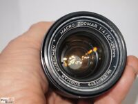 KILFITT Macro Zoomar 1:4/50-125 mm (Vintage-West-Germany) Zoom-Objektiv C-mount