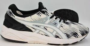 Asics Gel-Kayano Evo Low Nylon Trainers H6C3N Black/White UK11/US12/EU46.5