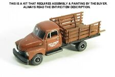 N SCALE: 1950's 3800 CHEVROLET ONE-TON FLATBED TRUCK - SHOWCASE MINIATURES #95