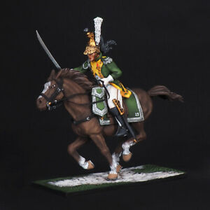Tin soldier, Officer of the French Dragoons of the 23rd Regiment, Napoleonic war