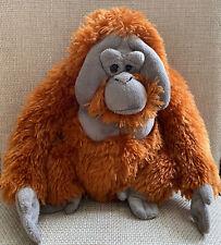"Wild Republic Cuddlekins Orangutan Plush 12"" Ape Gorilla Stuffed Animal Plushie"