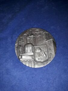 Rare Coronation Coat Of Arms Medal, Medallion, Coin / KINGS OF SPAIN Madrid 1966