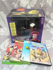 SHREK: DULOC DUNGEON (McFARLANE TOYS) Christmas Collectible & Incl. All 4 DVDs