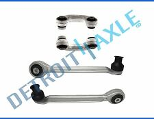New 4pc Set: Front Control Arms + Ball Joints and Sway Bar Links for Audi Passat