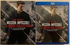 MISSION IMPOSSIBLE 6 MOVIE COLLECTION BLU RAY 7 DISC SET + SLIPCOVER SLEEVE BUY