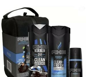 Axe Phoenix 5 Piece Toiletry Bag Gift Set