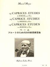 24 Vento Études de Boehm pour Copa libro de música clásica flauta canciones Tunes