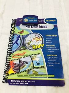 Quantum Pad 4th Grade Science Books & Cartridge Physical Life Earth Science