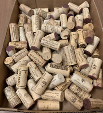 Box of 100 Natural Corks - No Synthetics - Good For Crafting