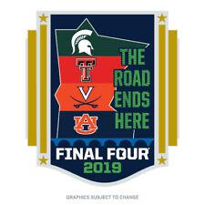 2019 NCAA Men's Final Four 4 Team Lapel Pin Minneapolis Texas Tech Virginia