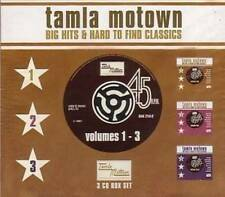 TAMLA MOTOWN BIG HITS & HARD TO FIND 1-3  NEW & SEALED 3X CD BOX SET R&B SOUL